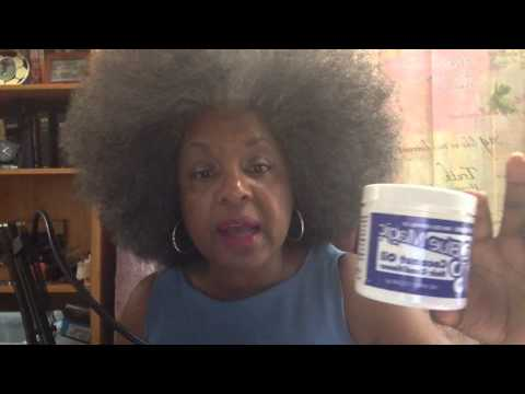 Natural Afro = Grey + Healthy  1280 x 720