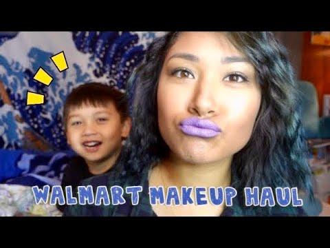 Mini Walmart Makeup Haul ft My Baby!   awkwardflowers_