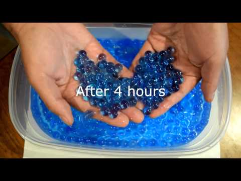 How to make water bead slime.