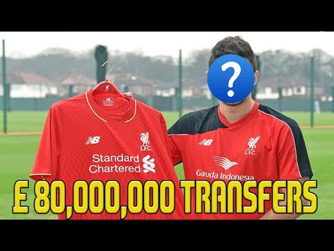 FIFA 18 Liverpool Career Mode | £80,000,000 SPENT ON NEW TRANSFERS! | SUPERSTAR JOINS | Episode #31