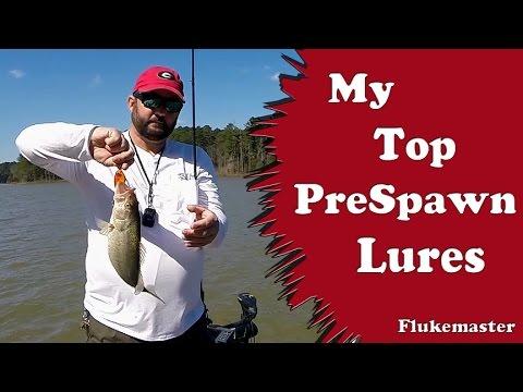 Prespawn Bass Fishing Top Picks