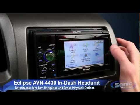 Eclipse AVN4430 Bluetooth and Navigation Car Receiver