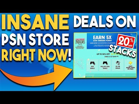 Get INSANE Deals on PSN Store NOW on PS4 GAMES!