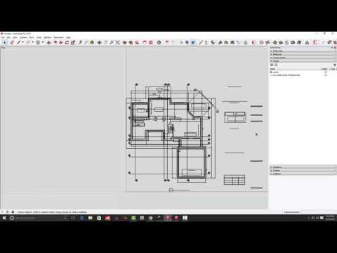 Part 1: Converting PDF drawings for use in SketchUp