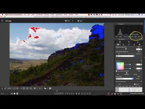 Canon Digital Photo Professional Video Tutorials - 2 Recover missing shadows