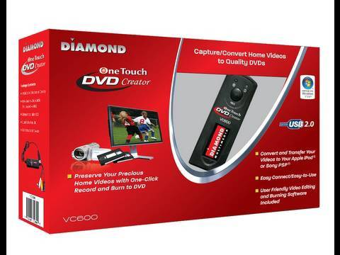 One Touch Video Capture - Diamond VC600 Review