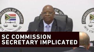 Download Zondo commission secretary named in Bosasa corruption Video