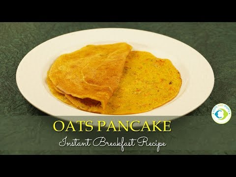 Instant Oats Pancake for Babies, Toddlers - Spicy Version