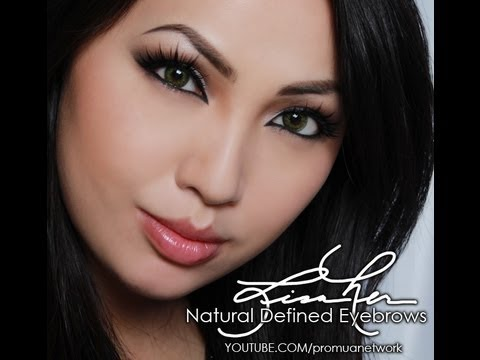 How to Create Natural Defined Eyebrows
