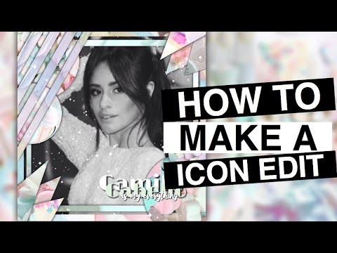 tutorial: how to make an icon ( fan edit ) || Tutorial Edits