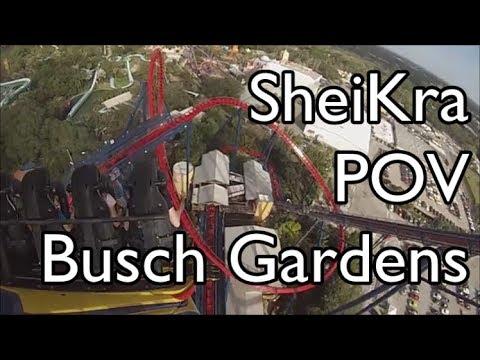 SheiKra POV @ Busch Gardens - Tampa, FL