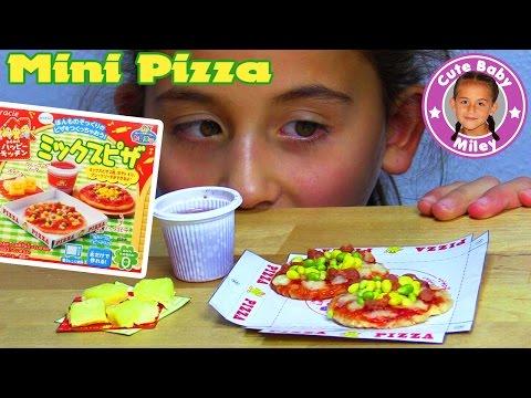 KRACIE POPIN COOKIN PIZZA SET   DIY Süßigkeiten Candy Kit Happy Kitchen   CuteBabyMiley