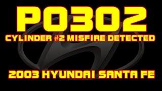 2003 Hyundai Santa Fe P0135 - O2 Sensor Heater Circuit Bank