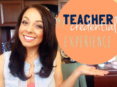 my california teaching credential experience {single subject social studies}