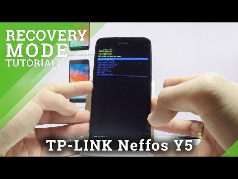 How to Enter Recovery Mode TP-LINK Neffos Y5 - Android Recovery