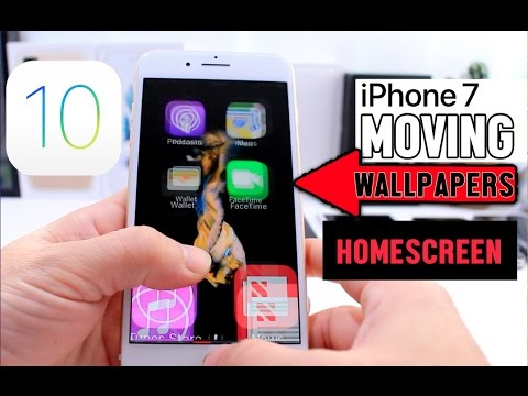 Live Wallpapers on iPhone Home Screen iOS 10 Glitch (No Jailbreak)