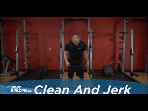 Clean and Jerk - Shoulders / Legs / Back Exercise - Bodybuilding.com