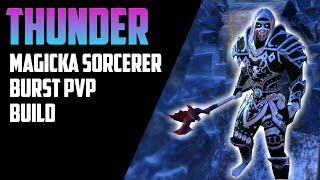 Magicka Sorcerer Build (41k + dps) No Pet -Clockwork City