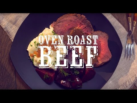 How to Make Roast Beef with Peppercorn Wine Sauce and Make-ahead Glazed Beets