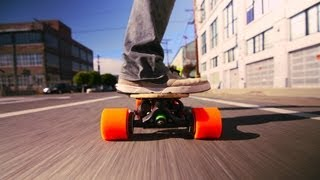 A skateboard, with a boost | Sanjay Dastoor