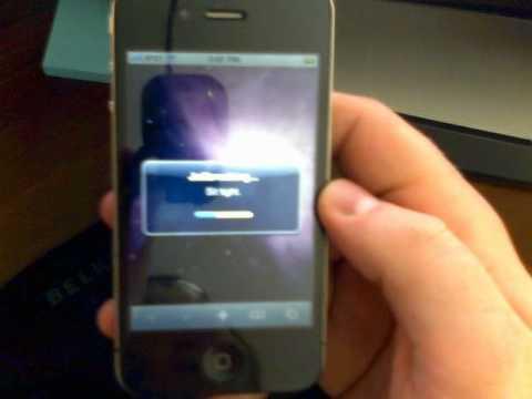 How to Jailbreak iPhone 4 (iOS 4.0.1, iTunes 9.2.1.5)