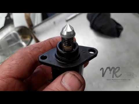 How to clean an Idle Control Valve, Opel Corsa 1300