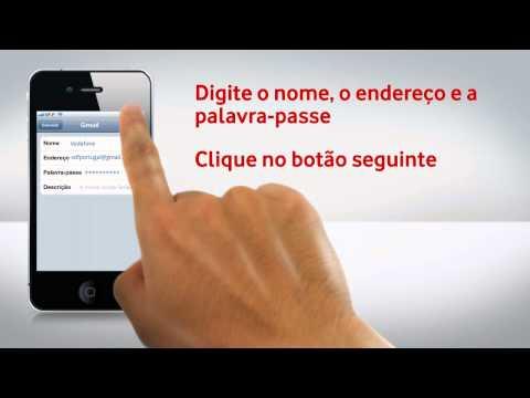 iPhone 4S - Configuração de e-mail