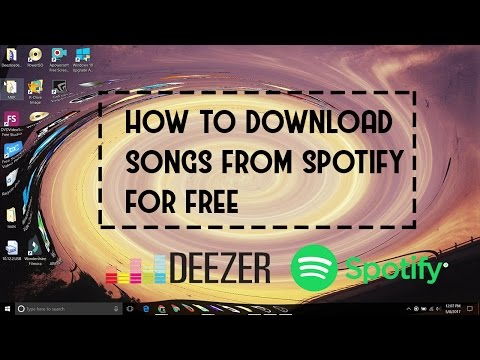 How to download songs from Spotify for FREE! for Windows and MacOS