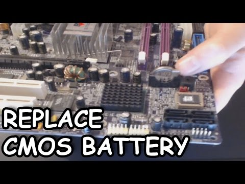 How To Change The CMOS Battery In Your Desktop Computer EASY