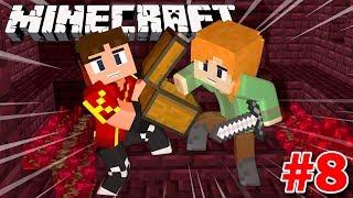 Minecraft Sinh Tồn #8 | CÙng Vamy QuẬy Banh LÂu ĐÀi DƯỚi ĐỊa NgỤc | Kia Phạm (w/ Vamy Trần)