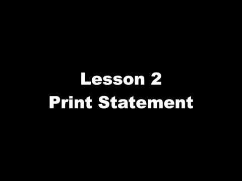 C++PrintStatementVideo