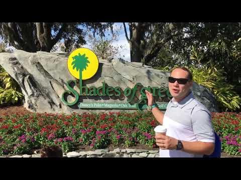 MeAndering Around Disney's Shades of Green Resort