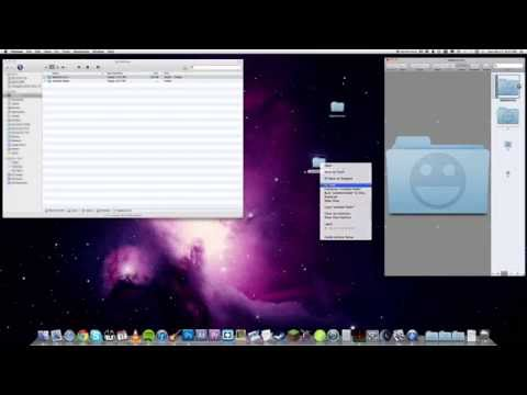How to apply ICNS icon files to folders in Mac OS X