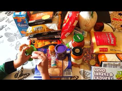 Tesco and Morrisons Shopping Haul   Indian Monthly Grocery Shoping