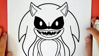 Como Dibujar A Amy Exe Sonic How To Draw Amy Exe Sonic Exe