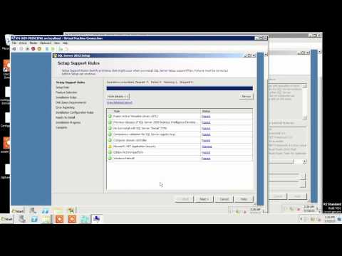 Install SQL 2012 from scratch for SQL Server Database Mirroring Part 2