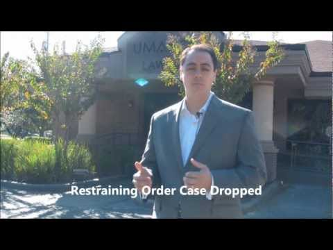 Restraining Order Case Dropped