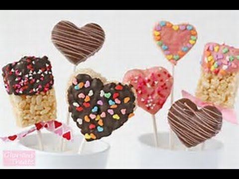 Valentines Day Rice Crispy Treats