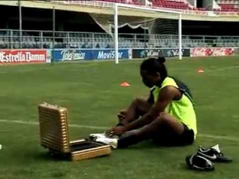 Ronaldinho skills session