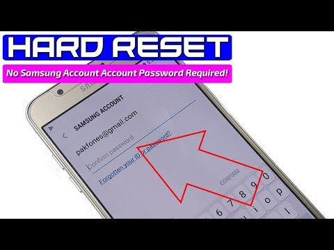 ★ Hard Reset Samsung Without Samsung Account Password ★ How to Factory Reset Samsung Without Pawword