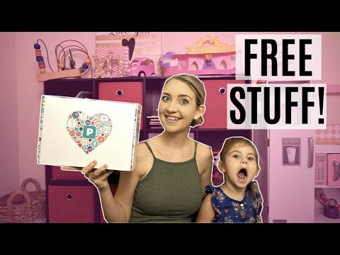 HOW TO GET FREE STUFF + GIVEAWAY l PINCHme Unboxing With My Toddler