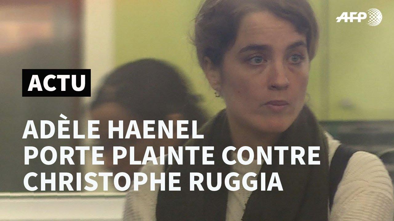 Adèle Haenel décide de porter plainte contre Christophe Ruggia | AFP News
