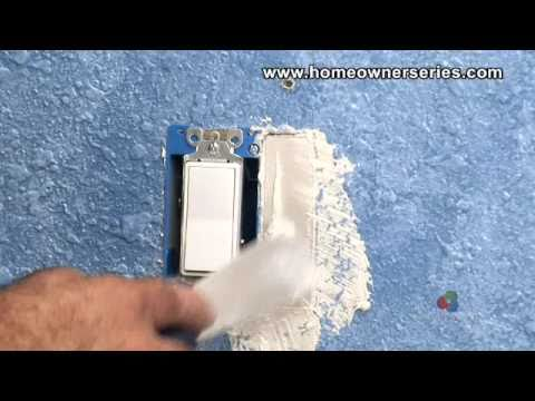 How to Fix a Wall - Electrical Box Patch - Drywall Repair- Part 1 of 2