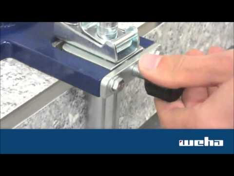 Weha Granite Stone Miter Clamps for stone & marble
