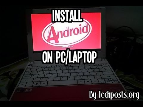 How to Install Android 4.4 KitKat On PC with Windows (Dual boot)