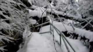 Góry Stołowe i Szczeliniec Wielki w zimie