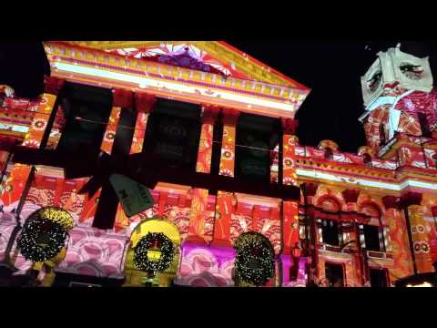 Melbourne town hall Christmas 2014