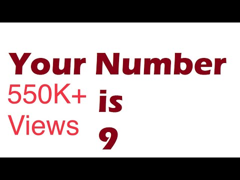 ✔ Maths Magic - I know Your Number