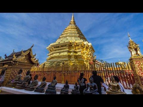 Wat Phra That Doi Suthep And The Top Of Doi Suthep Mountain