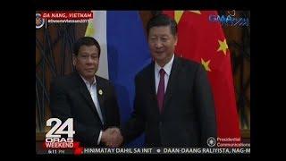 Xi Jinping, tiniyak kay Pres. Duterte na walang banta sa freedom of navigation sa South China Sea